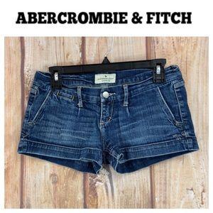 ➡️Abercrombie & Fitch Denim Short Size 0